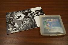 Sega GAME GEAR jeu: Castle of illision-Incl. guide-Jeux/Game