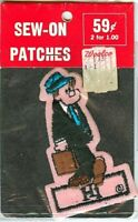 Rare Vintage Hi & Lois Newspaper Comic Strip Patch NOS new 1970s
