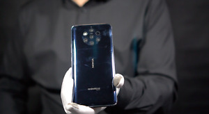 Nokia 9 Pureview 4G 128GB Unlocked Mobile Phone Blue - 'The Masked Man'