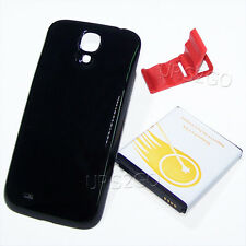 8300mAh Extended Double Layer Battery Black Cover f Samsung Galaxy S4 i545 i9500