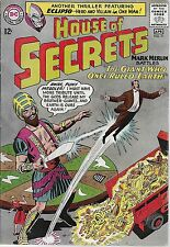 """DC (1965)HOUSE OF SECRETS #71 - """"The Giant Who Once Ruled Earth!"""" -- 5.0 VG/FN"""