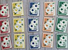 15 Handmade Bright Cheery Stripes Birthday greeting cards and envelopes