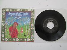 """DEPECHE MODE THE MEANING OF LOVE 7"""" FRENCH STAMPED PROMO REF VG108 101650"""