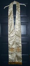 Metallic White Gold Priest, Clergy, Minister Stole - vestment chasuble wedding