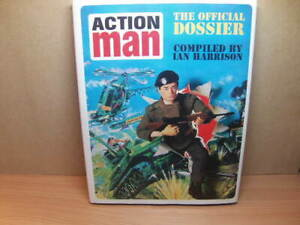 Action Man – The Official Dossier 2003 hardback Book compiled by Ian Harrison