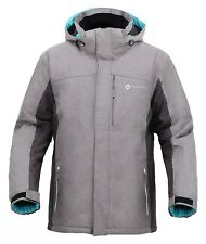Men's Winter Warm Waterproof Windproof Outdoor Hooded Ski Coat Snow Rain Jacket