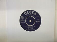 F.11655 Billy Fury - All I Wanna Do Is Cry / When Will You Say I Love You - 1963