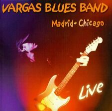 RARE CD VARGAS BLUES BAND LIVE / MADRID - CHICAGO