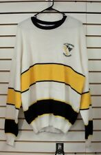 Pittsburgh Penguins VINTAGE sweater mens sz. Large retro still WITH TAGS = Retro