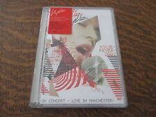 dvd KYLIE MINOGUE kylie fever 2002 in concert live in manchester
