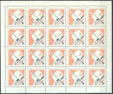 Russia 1967 Ostankino TV Tower in Moscow, FULL SHEET MNH Sc # 3398