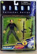 """Previews Exclusive Virus Collector Series SQUEAKY 5"""" Action Figure 1998 New!"""