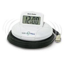 Sonic Alert Sbp100 Bomb Boom Portable Travel Vibrating Alarm Clock New