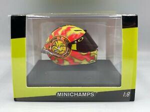 Minichamps 1:8 Valentino Rossi helmet Winter Test Sepang Day 1 MotoGP 2018 BNIB