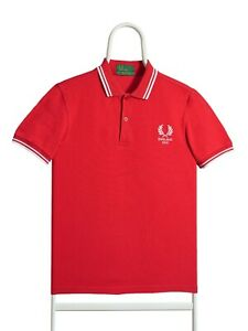 Fred Perry England 2010 Rare polo shirt , made in England , size S
