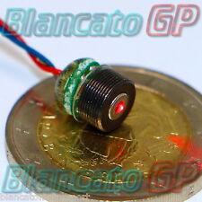MODULO LASER 635nm 5mW driver incluso diodo puntatore industriale APC Φ7mm x 9mm