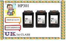 3 Remanufactured hp301 ad alta capacità & Qualità a getto d'inchiostro CARTUCCE PER STAMPANTE HP