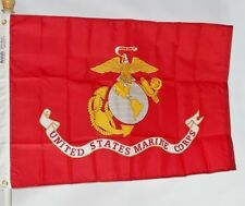Us Marines 3X5' Nylon Flag Made In The Usa Officially Licensed By Us Marine Corp