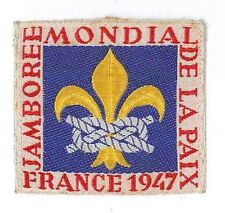 1947 World Scout Jamboree STAFF OFFICIAL PARTICIPANTS Patch