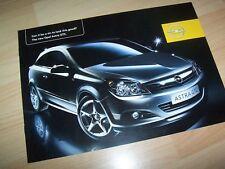 Catalogue / Brochure OPEL Astra GTC 2004 //