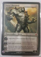 1 X Karn Liberated New Phyrexia Mythic Rare Nm Mtg Magic The Gathering