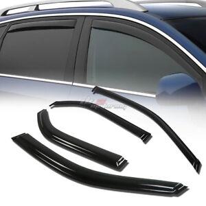 FOR 01-06 ACURA MDX YD1 SMOKE TINT WINDOW VISOR SHADE/VENT WIND/RAIN DEFLECTOR