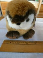 Vintage 1998 Swibco Puffkins Scooter the Chipmunk Plush Rodent