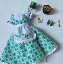 HOLIDAY HOSTESS SHAMROCK CELEBRATION BARBIE OUTFIT ONLY