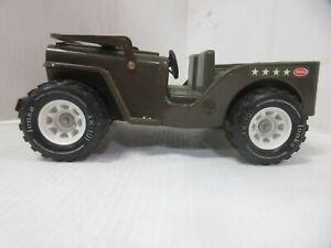 Vintage 1970's Tonka Army Jeep