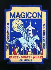 MAGICON THE 50TH WORLD SCIENCE FICTION CONVENTION ORLANDO, FL PATCH
