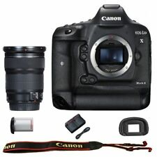 Canon EOS 1DX mark II DSLR Camera Body with EF 24-105mm f/3.5-5.6 IS STM Lens