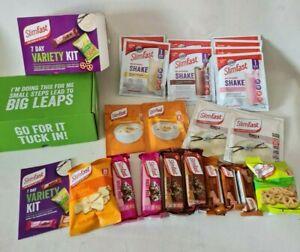SlimFast 7 Day Weight Loss Kit Body Diet Slim 1 Week VARIETY BOX Shakes Snacks