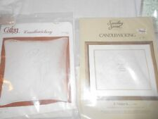Vintage 2 Candlewicking Kits Cathy and Something Special Large canvases
