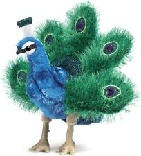 New ListingFolkmanis Puppets Play Pretend Fun Animal Puppets (Small Peacock)