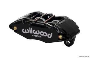 Wilwood Caliper-Dynapro Honda/Acura - Black Powder 1.62in Pistons .83in Disc
