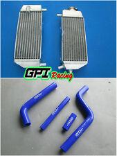 FOR Yamaha YZ125 2005-2014 2006 2007 2008 2009 2010 Aluminum radiator and hose