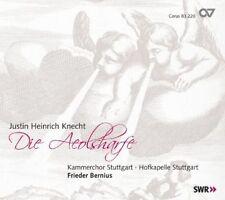JUSTIN HEINRICH KNECHT: DIE AEOLSHARFE NEW CD