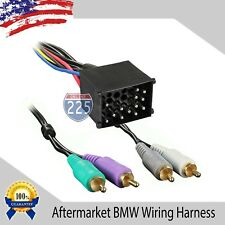 Car Stereo Wiring Harness AMP Aftermarket Radio 1987-2005 BMW 3 & 7 Series Z3 M3