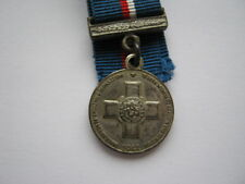Miniature Malta 50th Anniversary George Cross GC medal