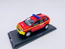 NOREV Dacia Duster 2018 Pompiers Secours Médical Echelle 1:43 Voiture Miniature - Rouge (509013)