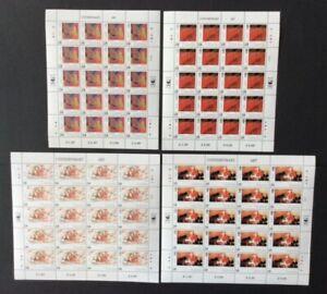 Guernsey - 1993, Europa, Contemporary Art sheets of 20 - MNH - SG 607/10