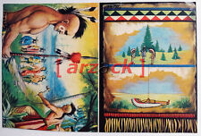 Album LONTANO WEST 2 DARDO 1963 - 4 figurine 73 74 79 80