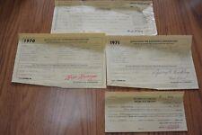 1970 Dodge Polara 2 Seat Wagon Historical Document Wall Art Rare Paper