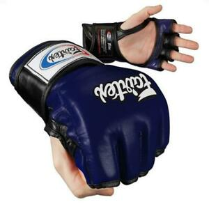 """Fairtex """"ULTIMATE COMBAT"""" MMA Gloves with Open Thumb - FGV12"""