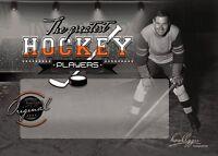 2 Blanco Tarjetas Autógrafiadas Cartas Coleccionables Hockey sobre Hielo : The