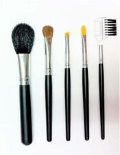 BRUSH SET 5 Piece Travel Makeup Brush Kit Tools With Clear Pouch