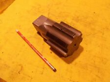 """2 1/2""""-8 NPT PIPE TAP 7 flute plumber machine shop threading tool fitter CHIPPED"""