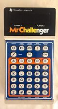 Mr Challenger Texas Instruments Vintage Handheld Electronic Game 1979 Good Shape