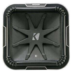 """Kicker 41L7152 15"""" Q-Class L7 Subwoofer w/ Dual 2-Ohm Voice Coils"""