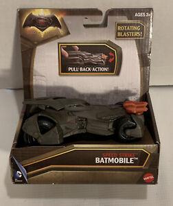 2015 Batman v Superman Dawn of Justice Speed Strike Batmobile Vehicle Mattel New
